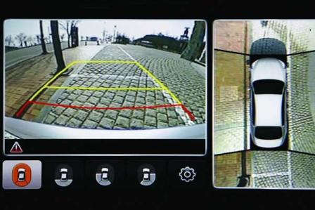 Arround view monitor