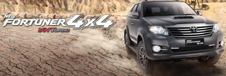 Review New Fortuner G 4x4