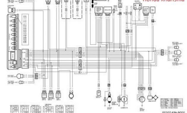 diagram kelistrikan honda kharisma