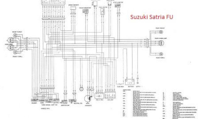 Diagram Kelistrikan Suzuki Satria Fu Apritos