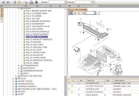 Suzuki Electronic Parts Catalogue