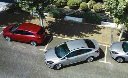 ford focus parkir sendiri