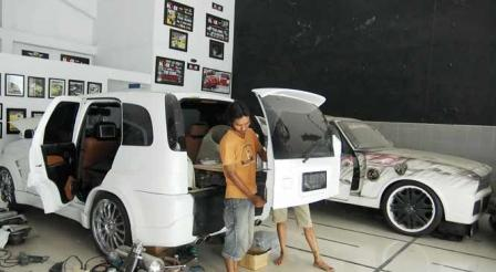 modifikasi ringan mobil yang murah