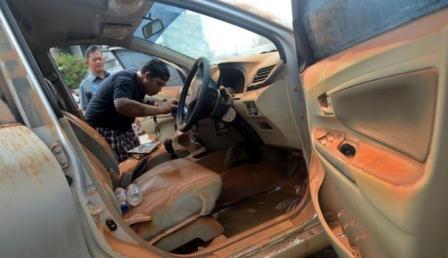 mobil bekas kebanjiran