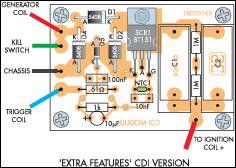 layout pcb cdi motor