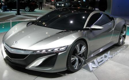review Honda Acura NSX