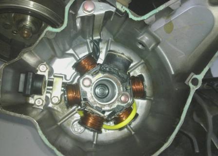 spul motor supra