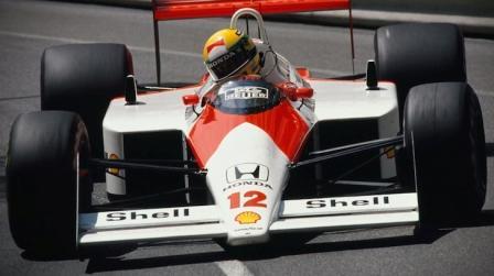 test ride McLaren Honda F1