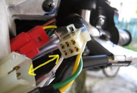cop kabel motor