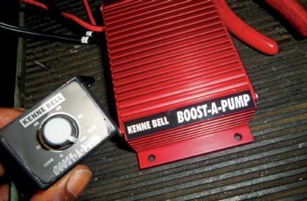 fuel pump booster