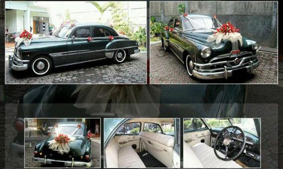 mobil pernikahan klasik