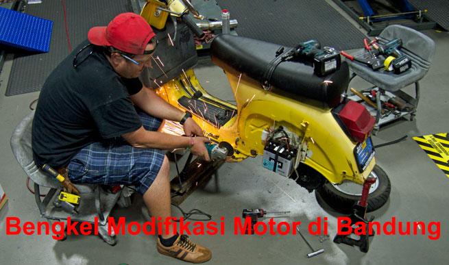 bengkel motor modif bandung
