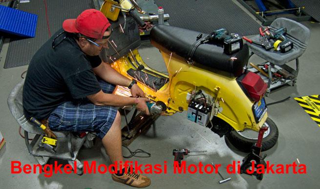 bengkel motor modif jakarta