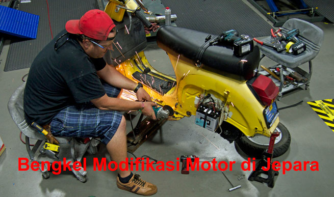 bengkel motor modif jepara