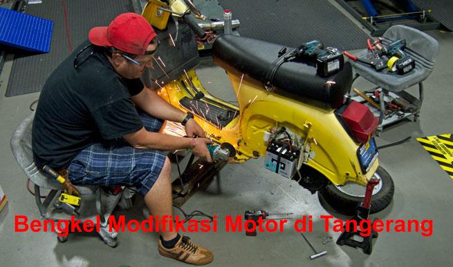 bengkel motor modif tangerang