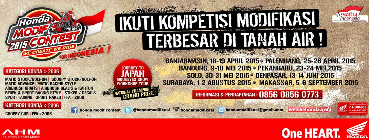 lomba modifikasi honda 2015