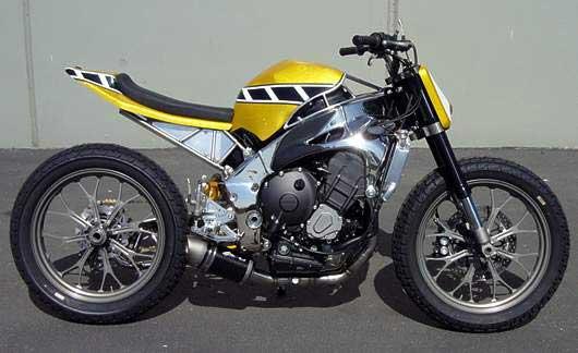 modif motor flat track