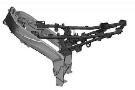 rangka motor perimeter frame