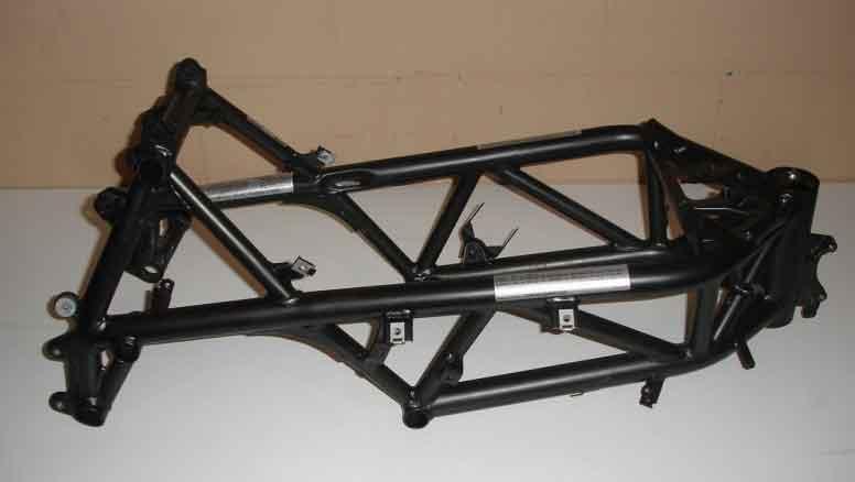rangka motor trellis frame