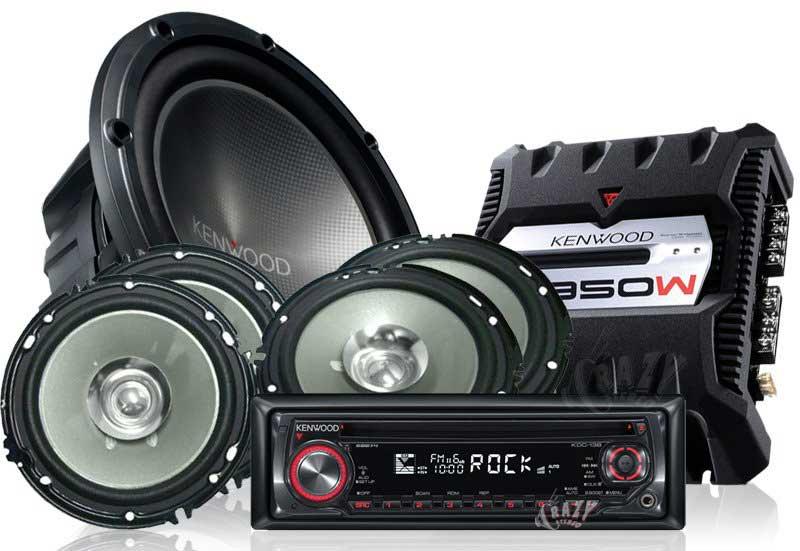 komponen audio system mobil