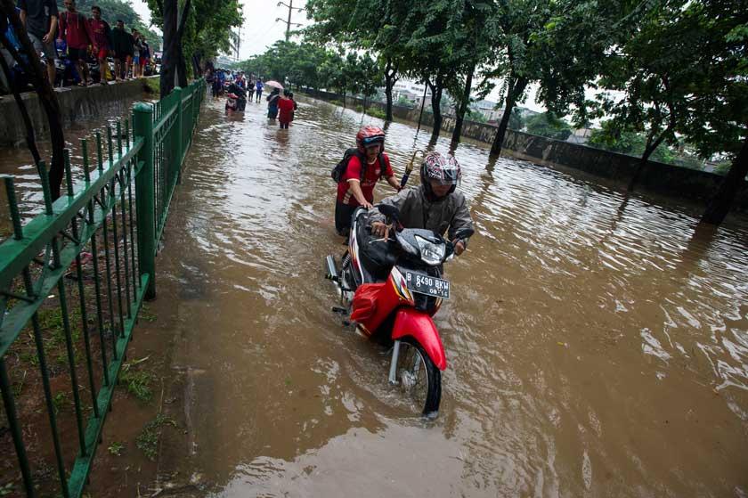 mogok banjir
