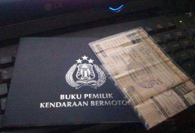 surat kendaraan pribadi