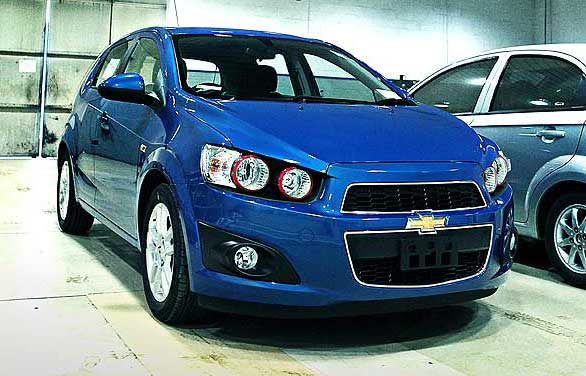 all new Chevrolet Aveo 1.4-LT-AT