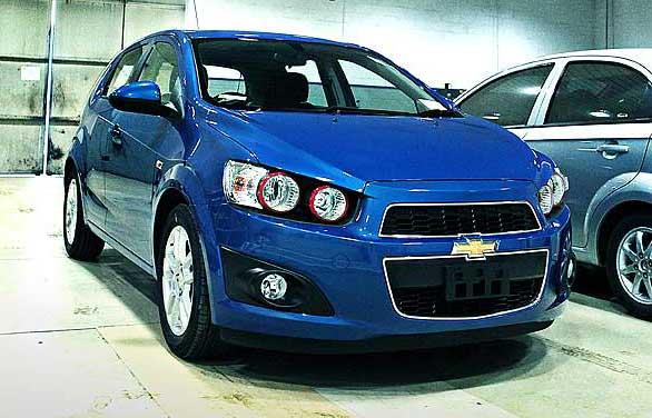 all new Chevrolet Aveo 1.4-LT-AT