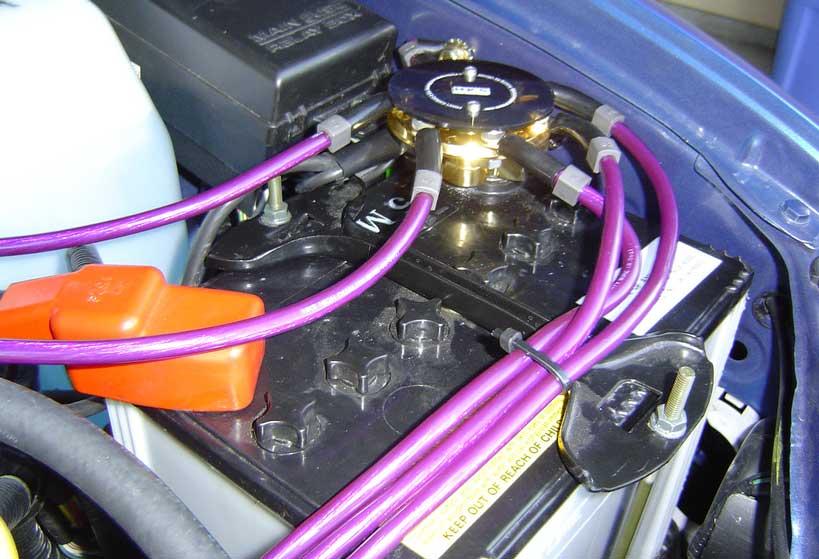 grounding kabel mobil 5 titik
