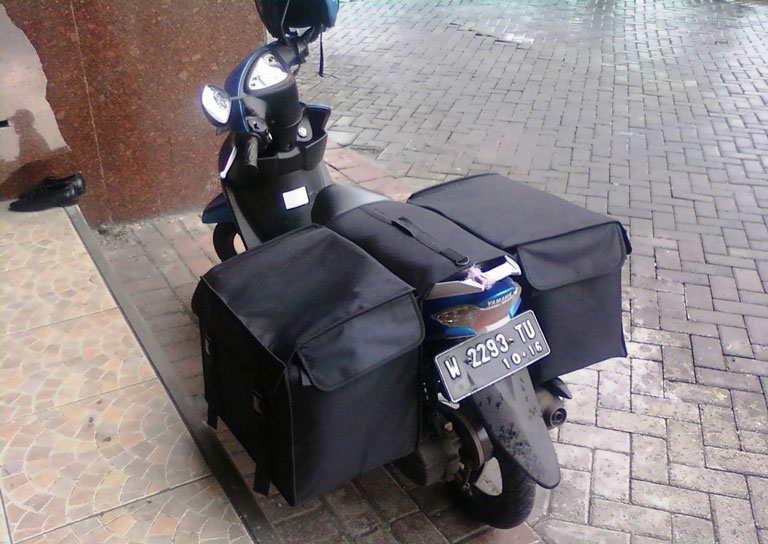 modifikasi motor kurir