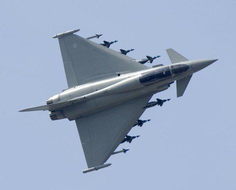 jenis pesawat tempur eurofighter typhoon