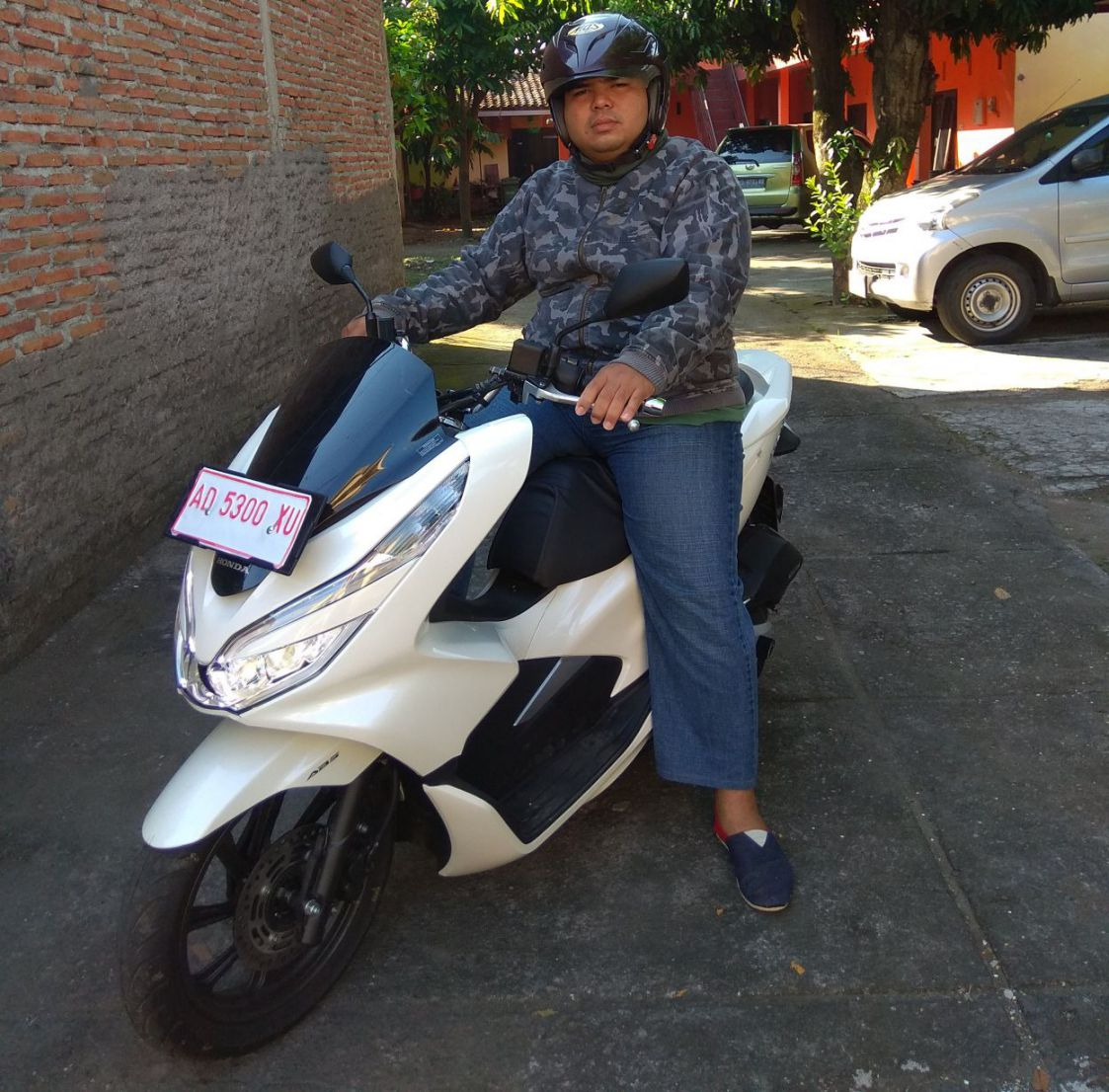 review testride PCX150