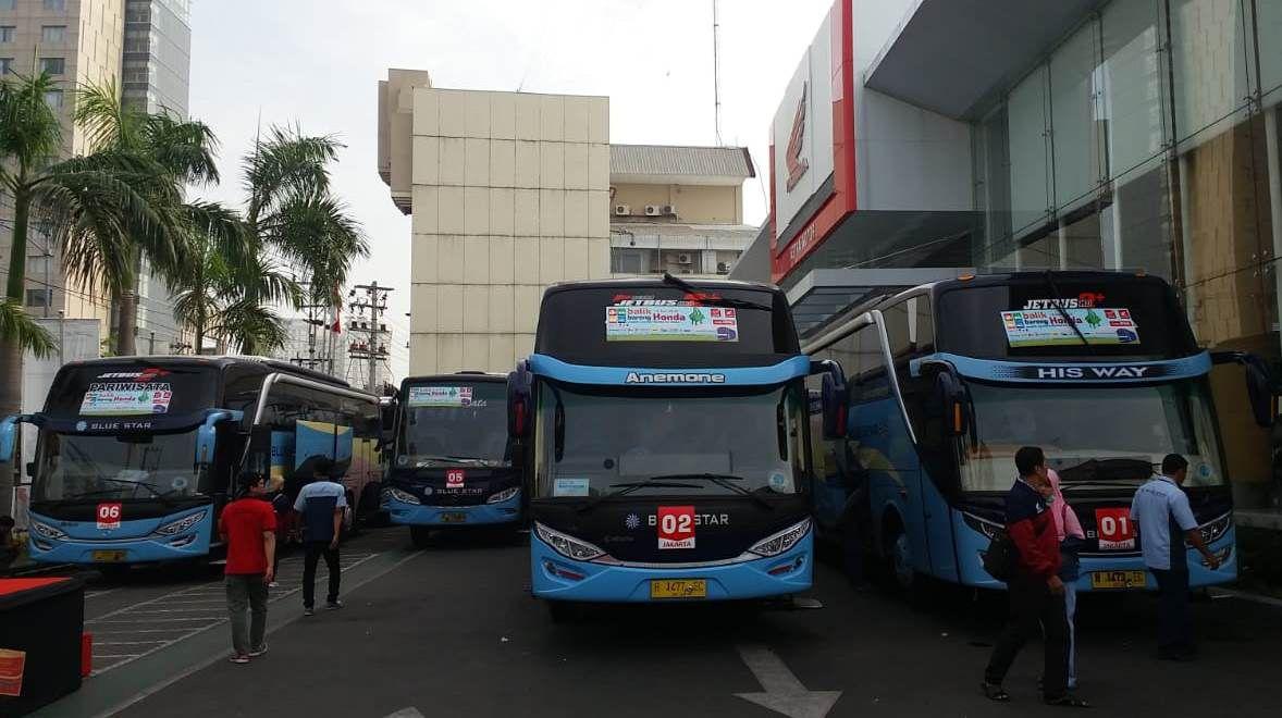 bus balik bareng Honda 2018