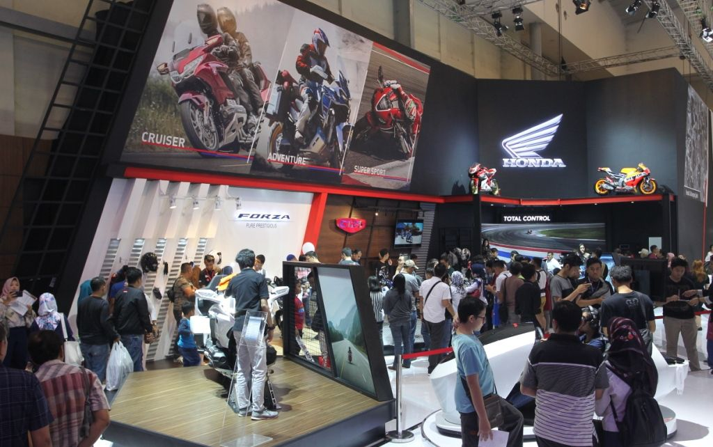 Booth Honda favorit GIIAS 2018