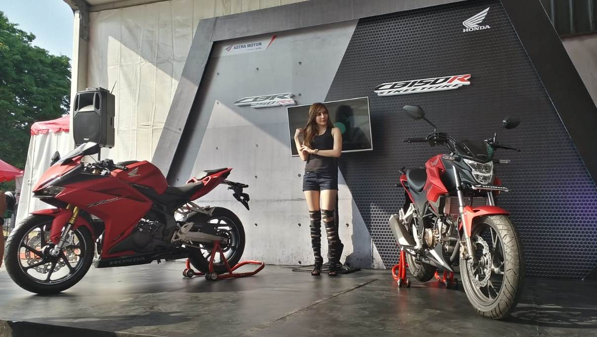 Honda Jateng CB150R Streetfire dan CBR250RR