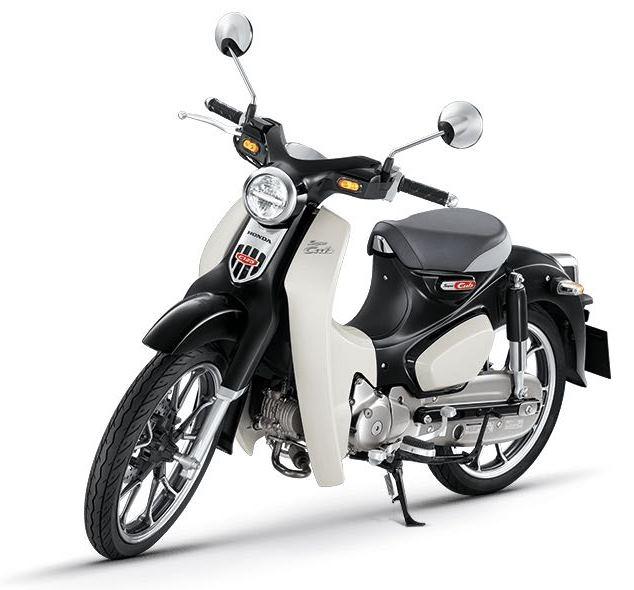 Honda Super Cub 125 hitam