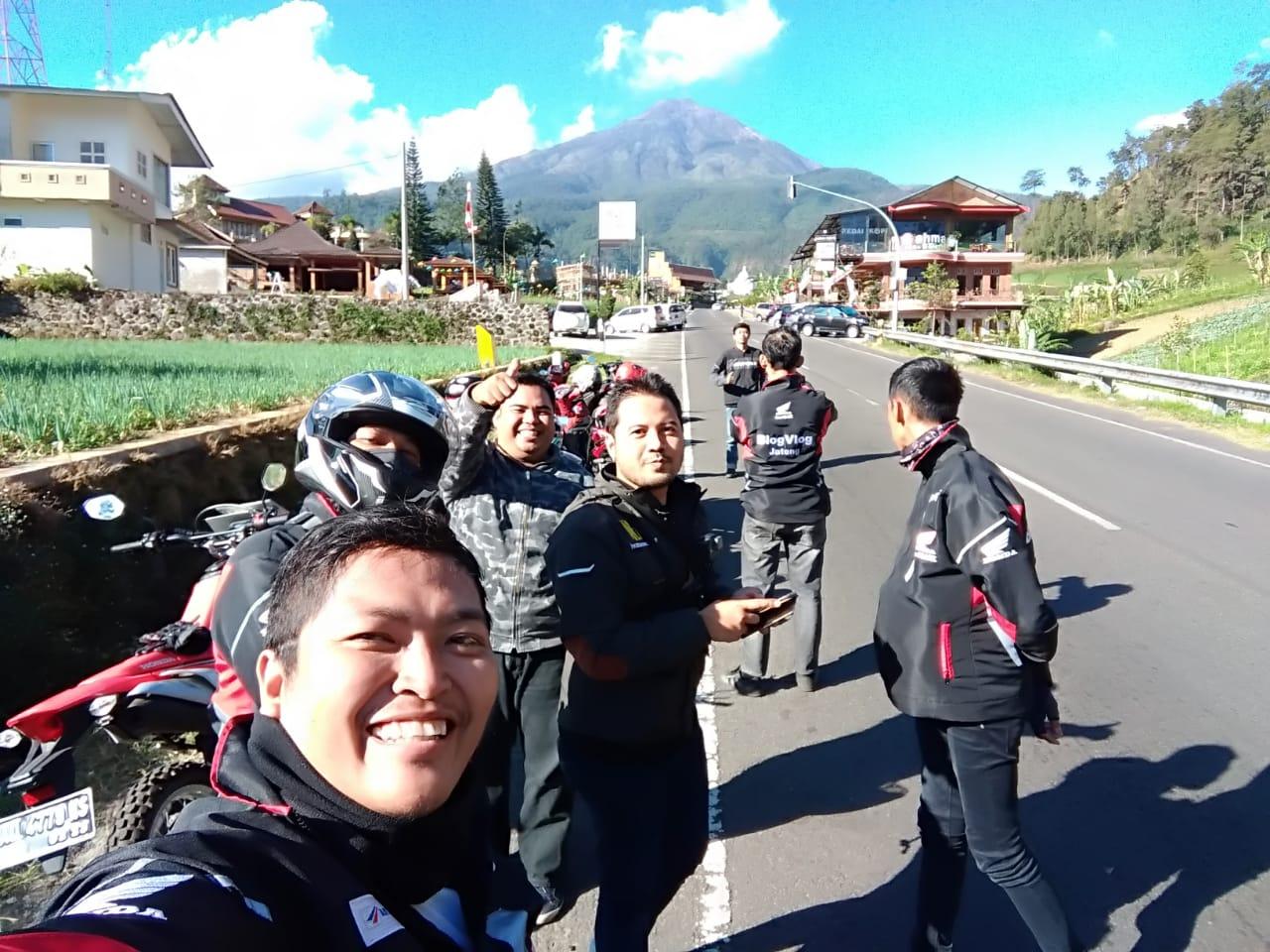 Touring kemerdekaan 2018 Honda Jateng