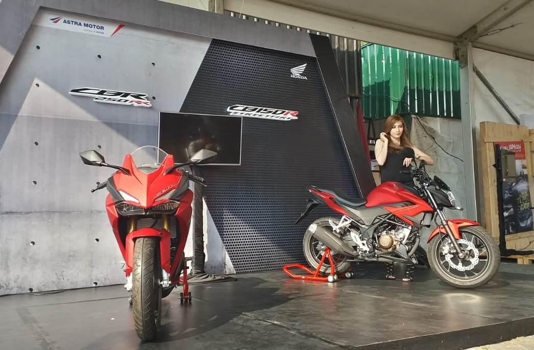 launching CB150R Streetfire dan CBR250RR 2018