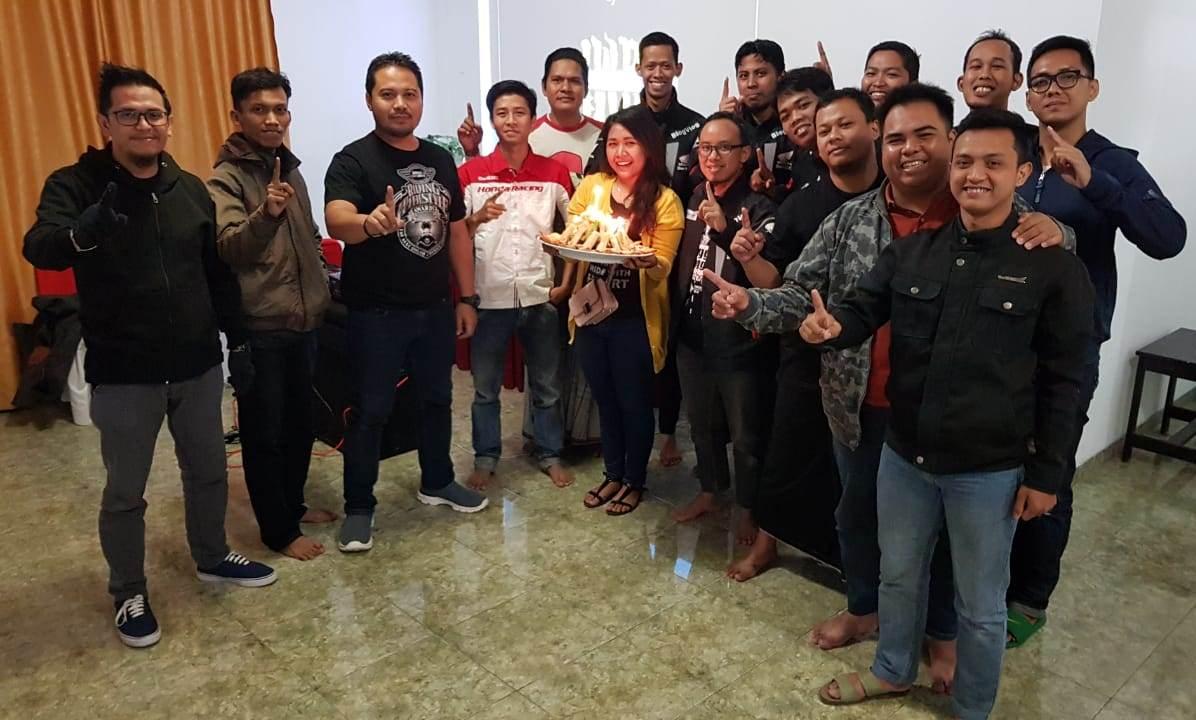 1st Anniversary Blog Vlog Honda Jateng