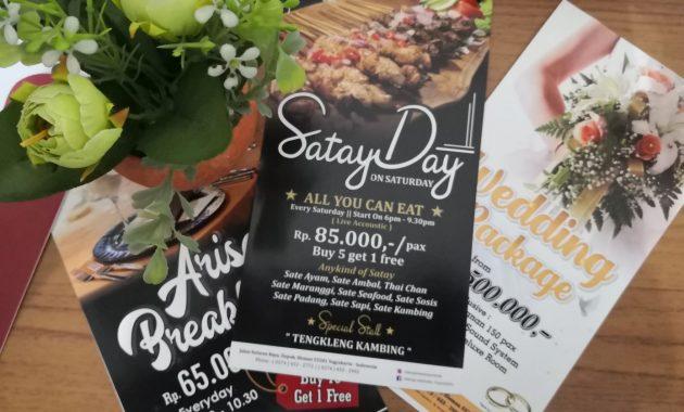 Satay Day ON Saturday Merapi Merbabu Hotel Yogyakarta