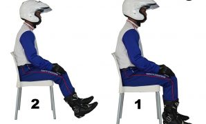 posisi riding nyaman