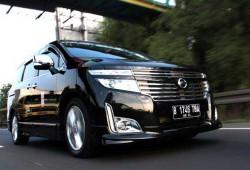 Nissan New Elgrand MPV Premium Mobil Mewah Kelas Atas
