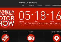 Tagline Baru IIMS 2015 The Essence of Motor Show