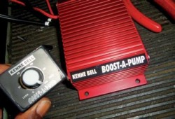 Fuel Pump Booster Motor, Menaikkan Tekanan Bensin
