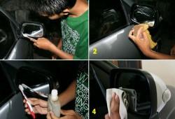 Tips Ringan Untuk Merawat Spion Mobil Sendiri