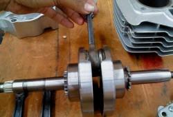 Efek Modifikasi Berat Bandul Kruk As Motor