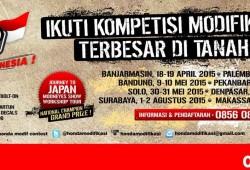 Kompetisi Honda Modif Contest 2015 Siap Digelar 8 Kota