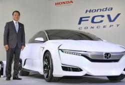 Honda FCV Concept, Konsep Mobil Listrik Terbaru