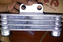 Cara Membersihkan Oil Cooler Satria F150