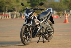New Honda Sonic 150R Yang Menjadi Pesaing Suzuki FU 150